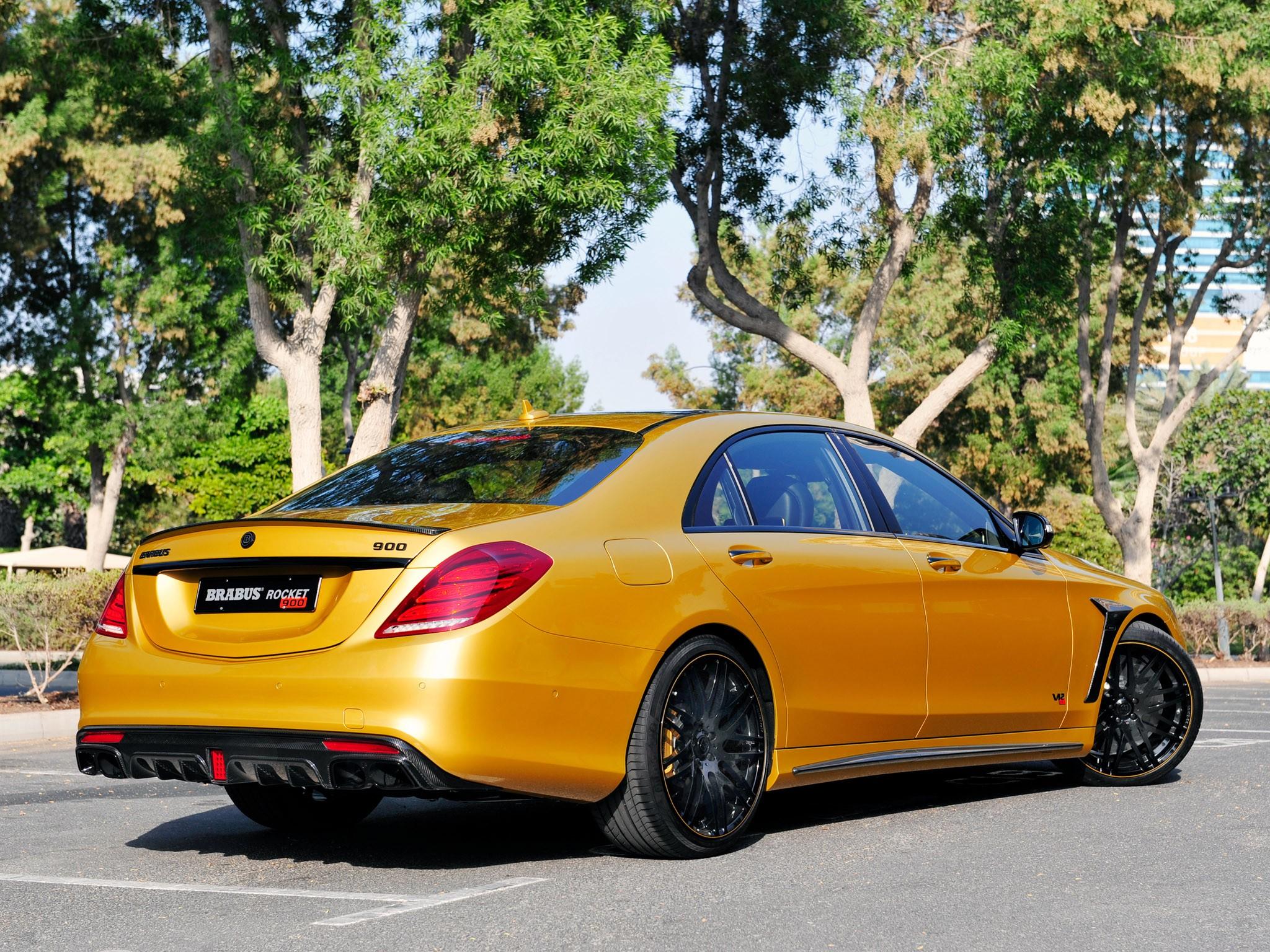2015 Brabus - Mercedes S Klasse Rocket 900 Desert Gold Edition W222