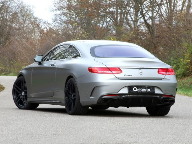 2016 G-power - AMG Mercedes S63 Coupe C217