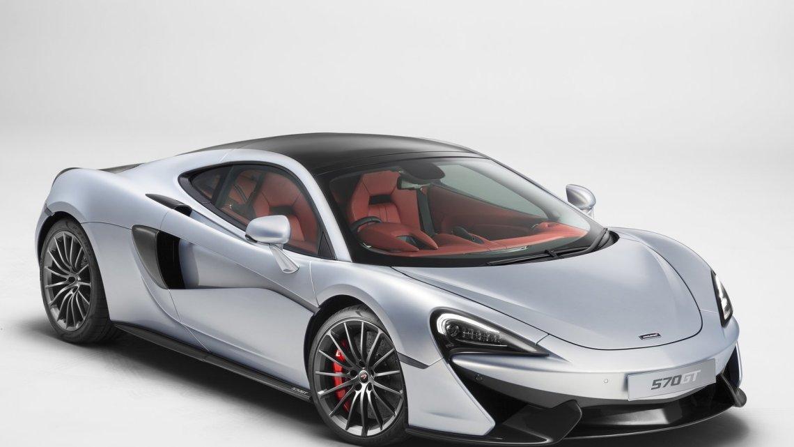 McLaren 570GT 2017: « GT » référence au nom de « Gran Turismo ».