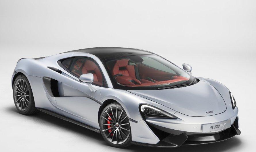 McLaren 570 GT 2017 – Le GT fait référence au nom de Gran Turismo