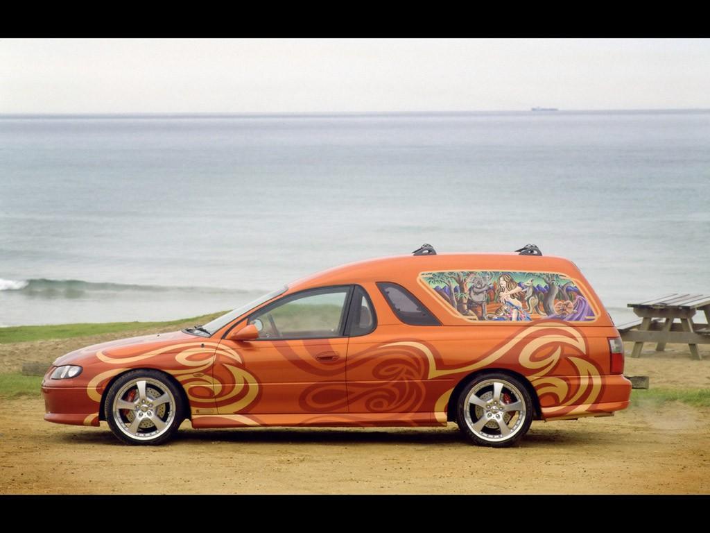 2000 Holden Sandman Concept Beach