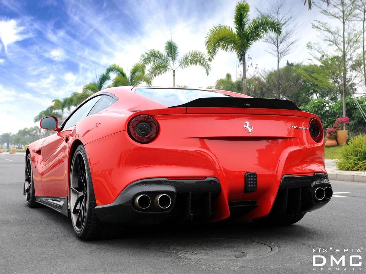 2013 Ferrari F12 Berlinetta Spia by DMC Design