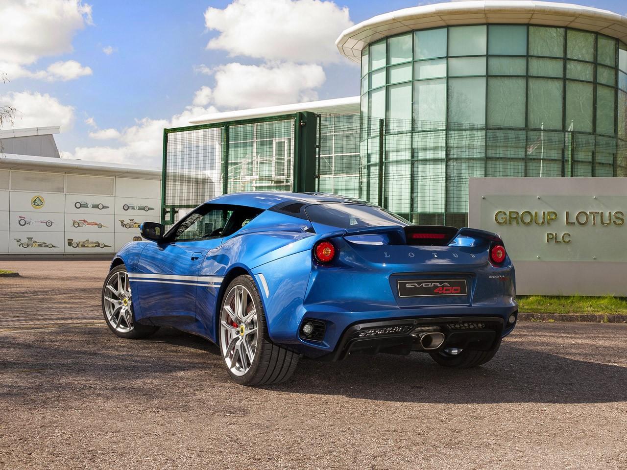 2016 Lotus Evora 400 Hethel Edition