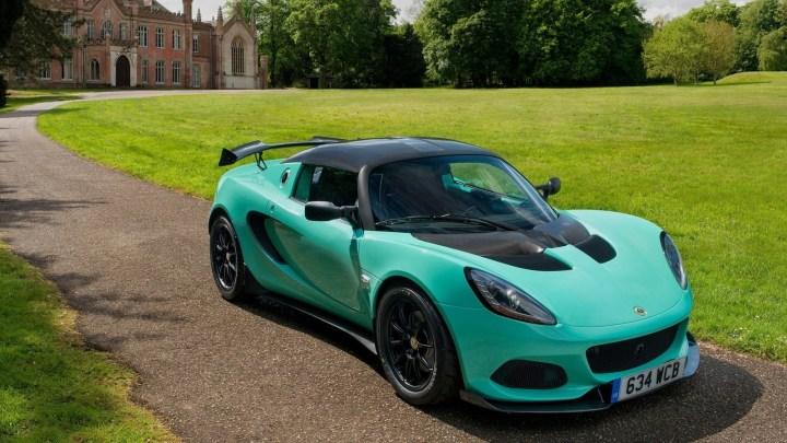 Lotus Elise Cup 250 2017 – Avec des améliorations aérodynamiques
