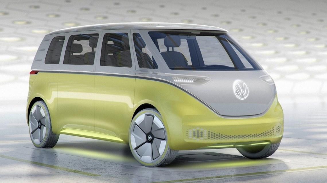 """Volkswagen ID Buzz Concept : Fidèle à la """"hippie"""" du célèbre van T1"""