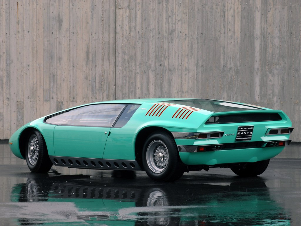 Italdesign Bizzarrini Manta 1968