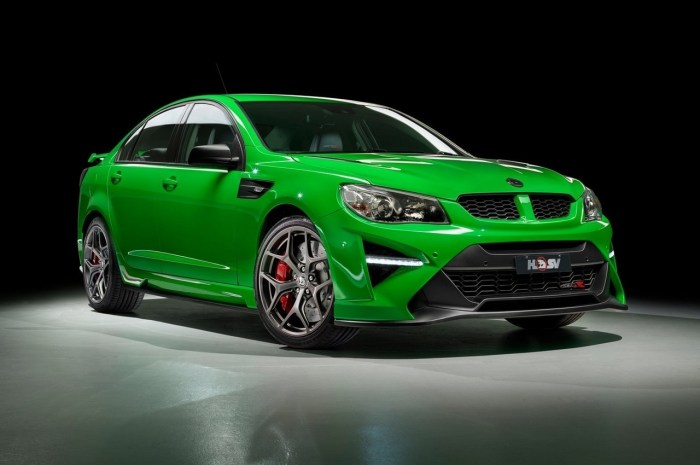 HSV GTSR 2017 – Pick-up typique du marché australien.