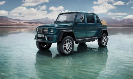 2018 Mercedes Benz G650 Maybach Landaulet