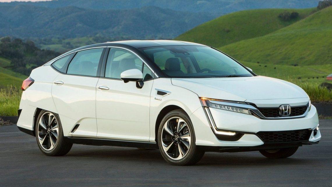 Honda Clarity Fuel Cell 2017 A pile à combustible hydrogène – Photoscar