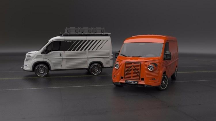 2017 Citroen Type H 70th Anniversary