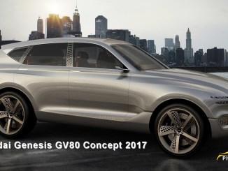 2017 Hyundai Genesis GV80 Concept