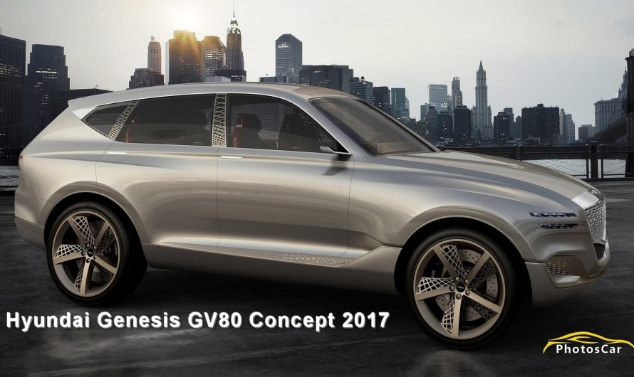 Hyundai Genesis GV80 Concept 2017 – Pile à combustible à hydrogène