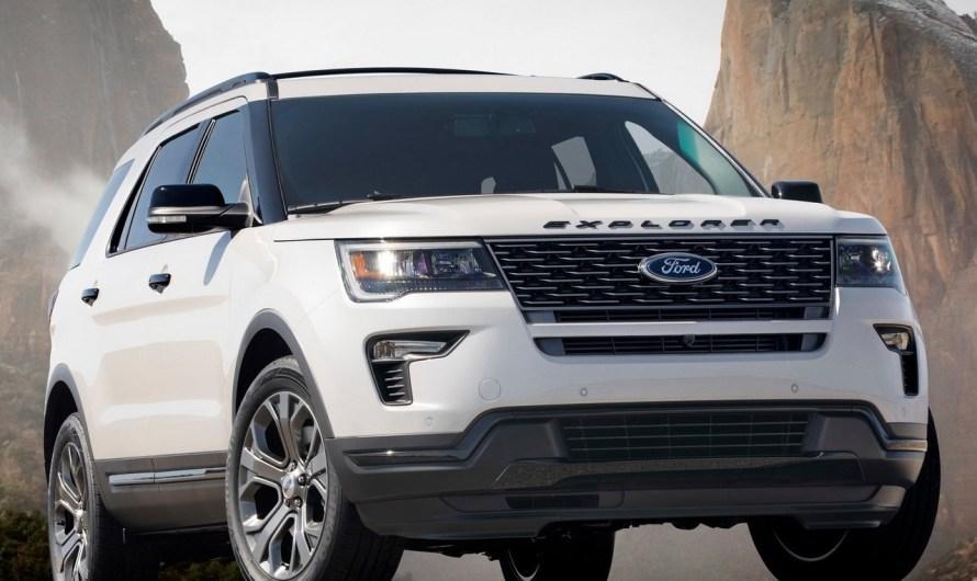Ford Explorer Sport 2018 nouvelles fonctionnalités de sécurité