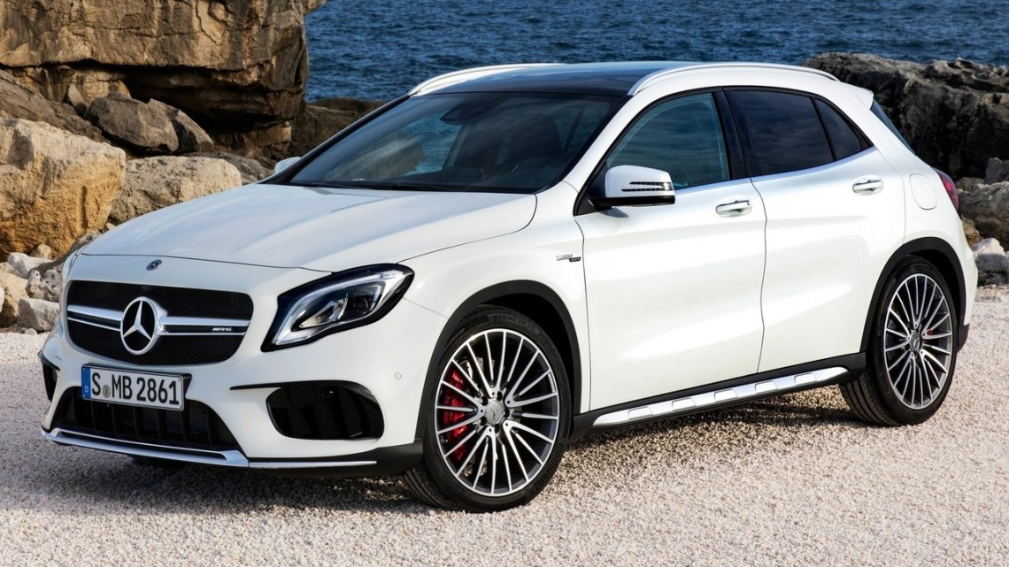 Mercedes AMG GLA 45 2018 – Un moteur turbo de 2,0 litres
