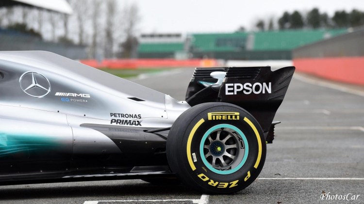 Mercedes W08 EQ Power+ 2017