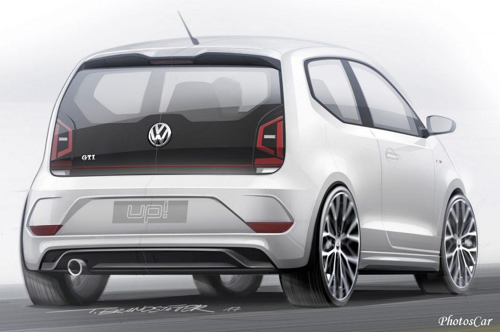 Volkswagen UP GTI Concept 2017