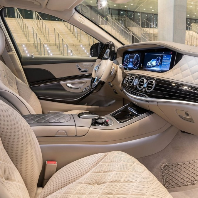 Mercedes classe s maybach 2018 avec des innovations for Mercedes classe r interieur