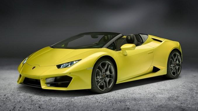 2017 Lamborghini Huracan Spyder RWD
