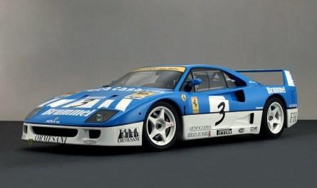 1991 Ferrari F40 GT Michelotto Racing Car
