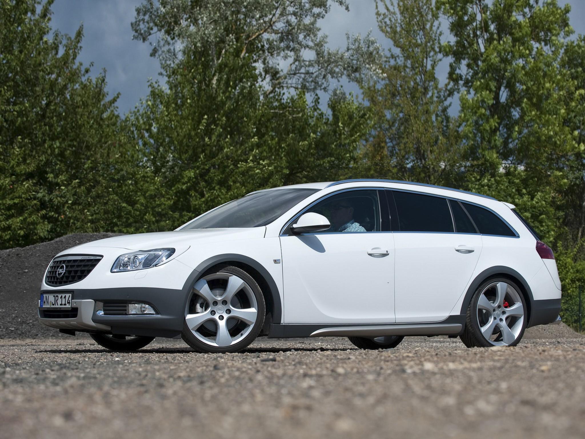 2012 Irmscher Opel Insignia Cross4