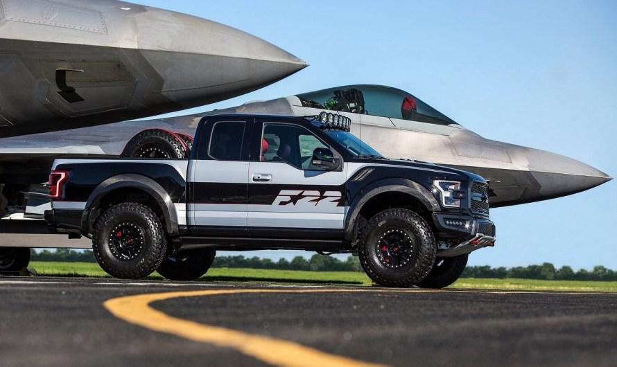 Ford F150 Raptor F22 Concept – Version unique vendue aux enchères