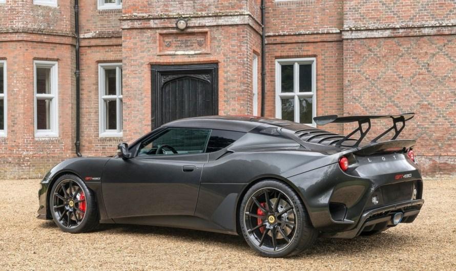 Lotus Evora GT430 2018 – Moteur V6 de 3,5 litres avec 430 chevaux