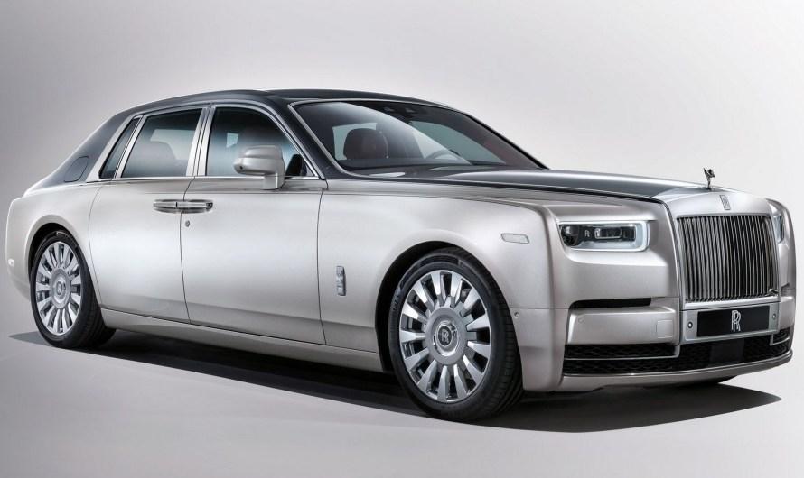 Rolls Royce Phantom 2018 avec un moteur V12 6,75 l de 570 chevaux