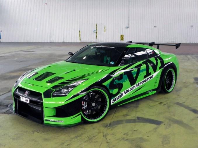 2010 Nissan_GTR 1200R Hulk Tuning SVM