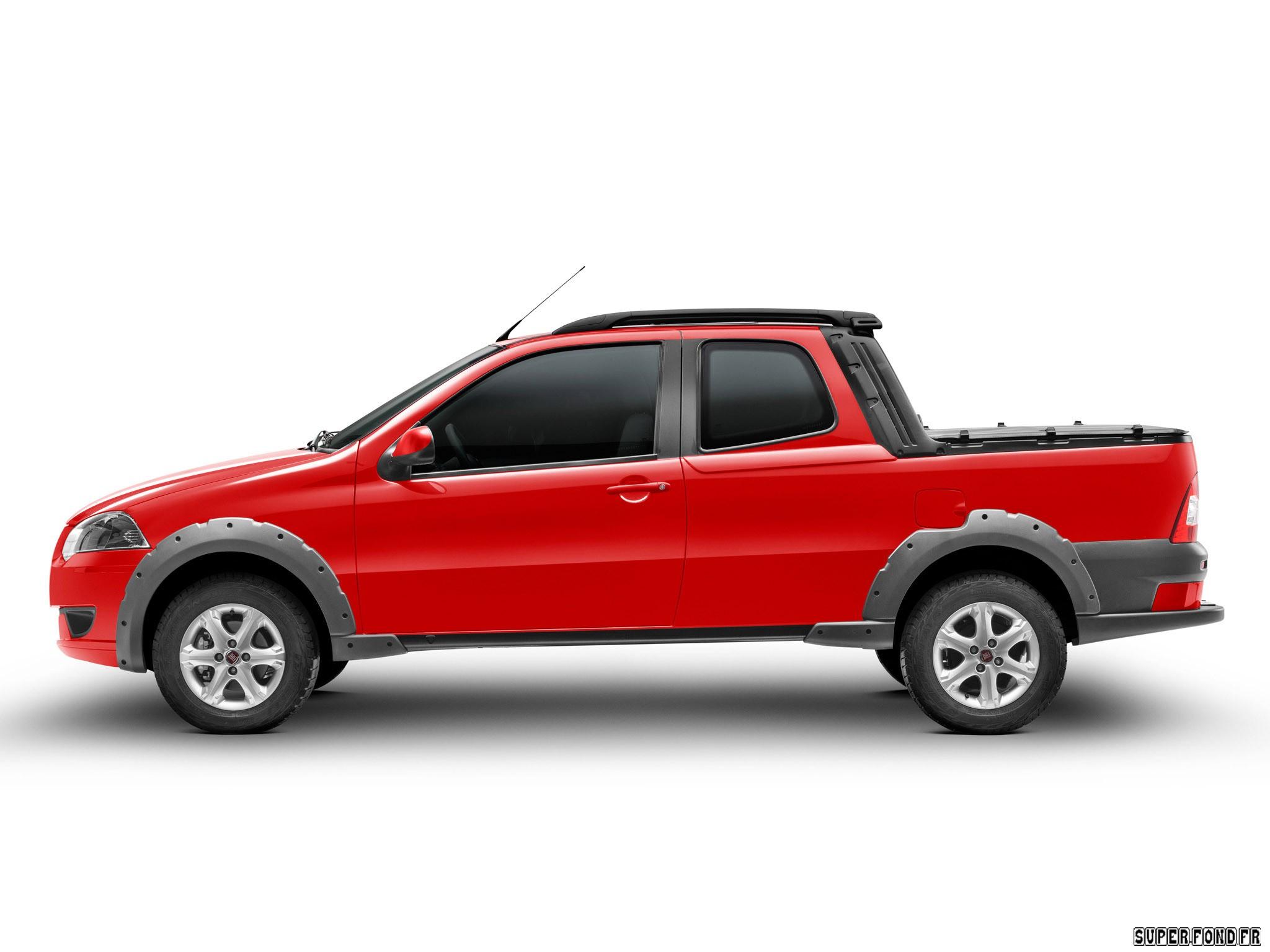 Fiat Strada Trekking CD 2012