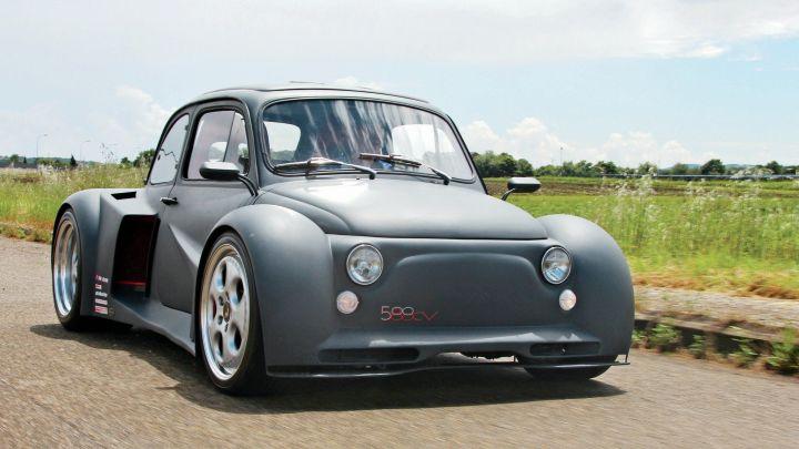 Fiat 500 Oemmedi – Moteur V12 de 6,2 L développant 580 chevaux