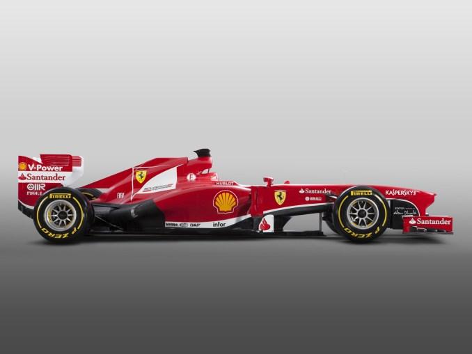 2013 Ferrari F1 F138