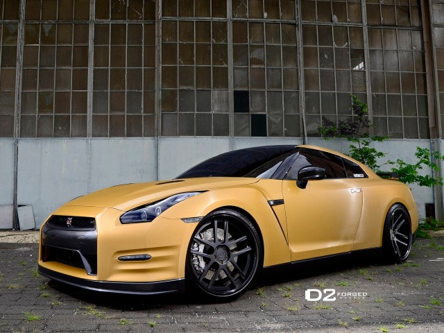 2013 Nissan_GTR - D2forged