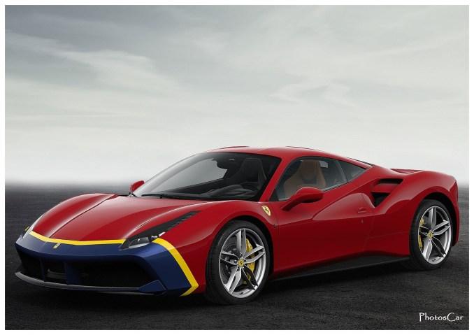 "2016 Ferrari 488 Spider ""The-Fangio"""