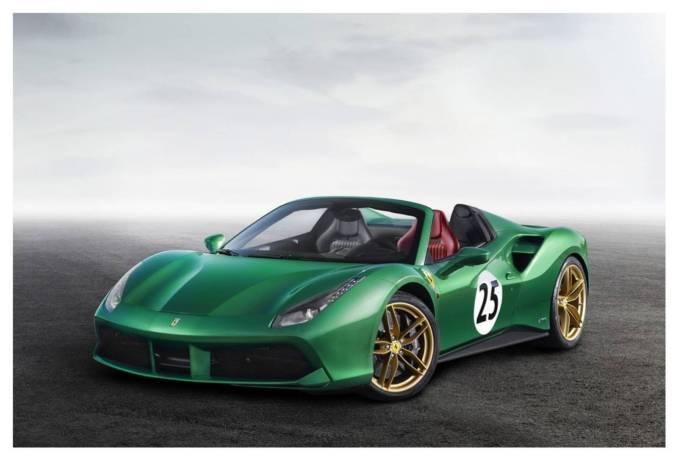 """2016 Ferrari 488 GTB Spider """"The Green Jewel"""""""