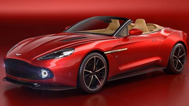 Aston Martin Vanquish Zagato Volante 2017 – Design et performance.