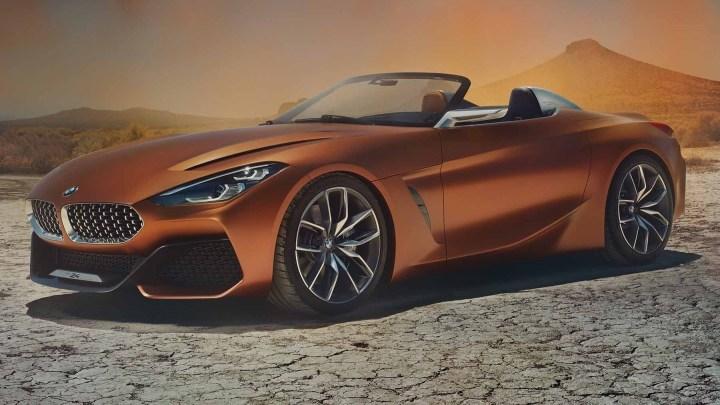 BMW Z4 Concept 2017 ravive le légendaire roadster bavarois.