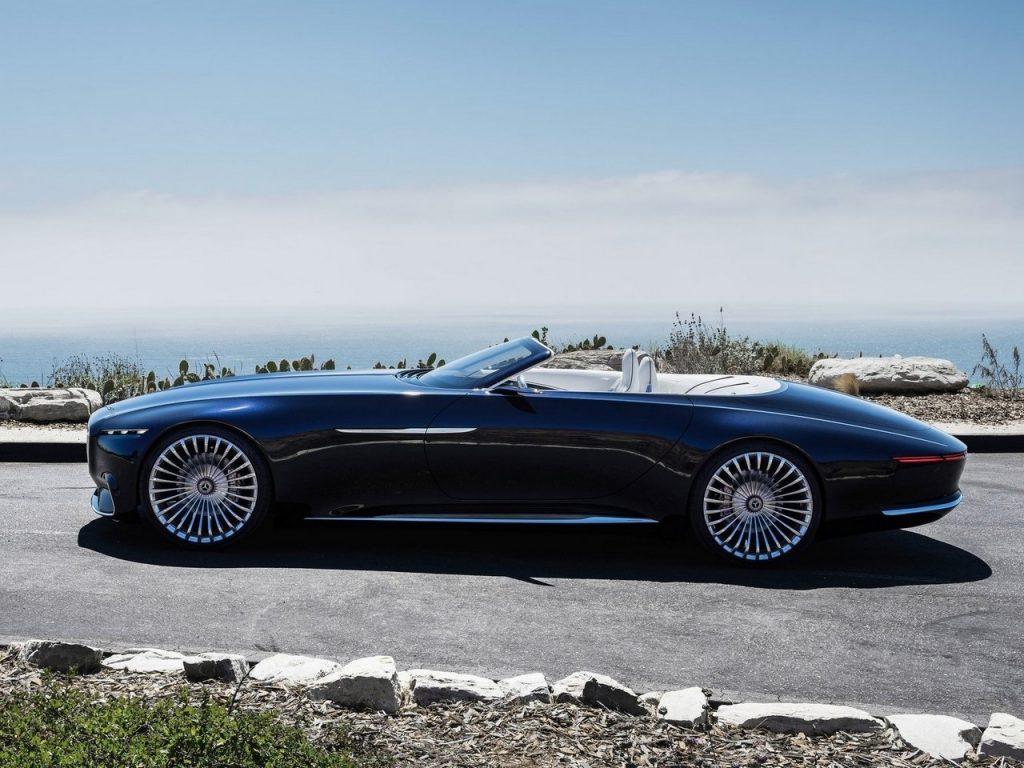 Vision Mercedes-Maybach 6 Cabriolet 2017