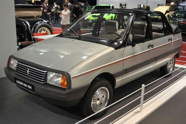 Citroën Visa Convertible - 1984 - Retromobile 2013