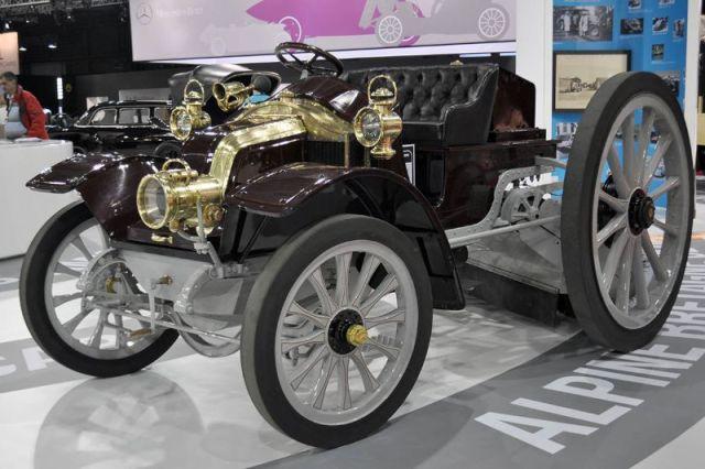 Renault Balayeuse Type DM - 1913