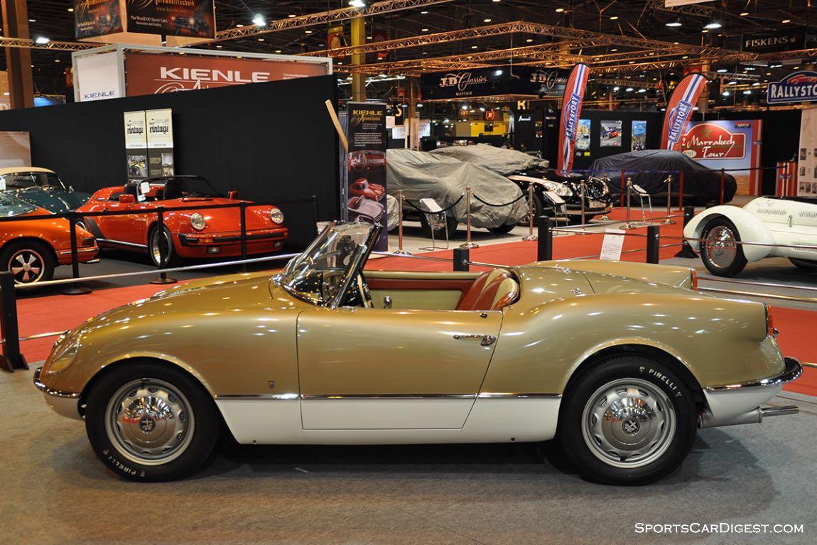 Alfa Romeo Giulietta Spider Bertone - 1955 (Lopresto Collection) - Retromobile 2015