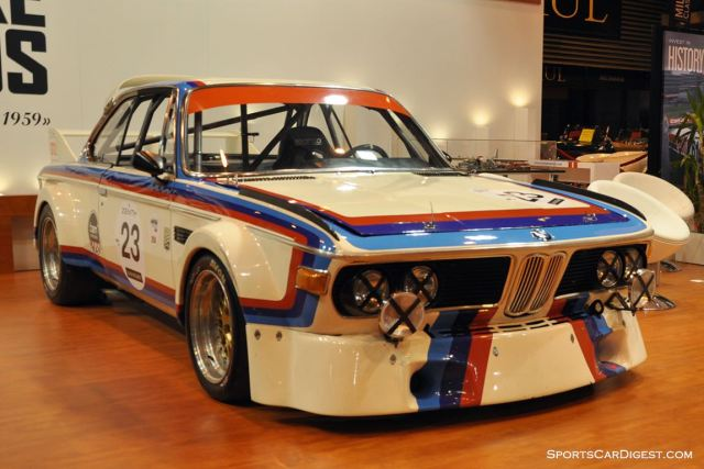 BMW 3.0 CSL – 1973 - Retromobile 2015