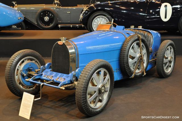 Bugatti T51 Grand Prix – 1931 - Retromobile 2015