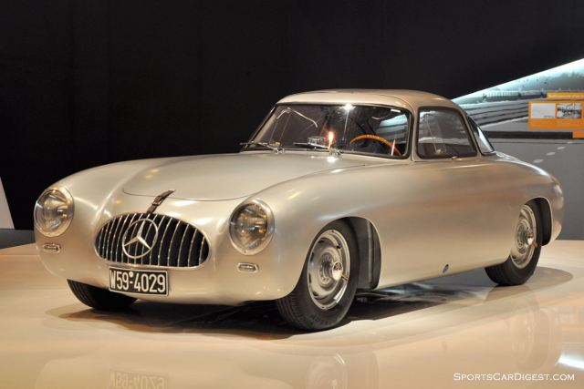 Mercedes-Benz 300 SL – 1953 - Retromobile 2015