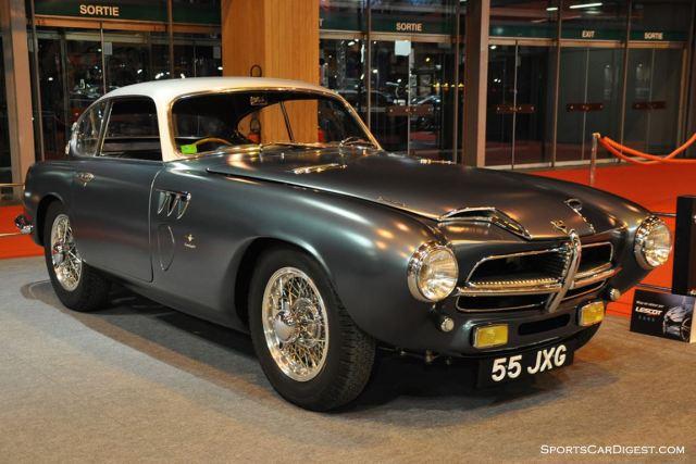Pegaso Z-102 Touring Superleggera – 1955 - Retromobile 2015
