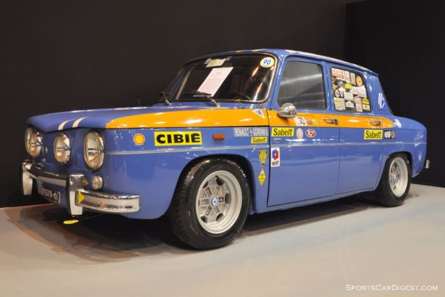 Renault 8 Gordini – 1962 - Retromobile 2015