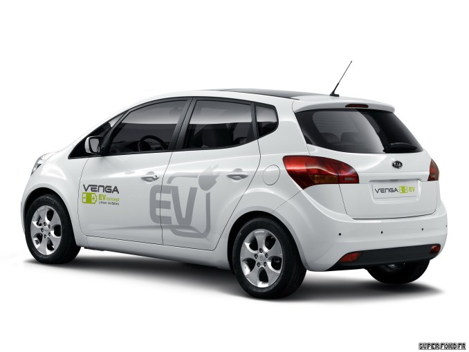 Kia Venga Plugin Electric Concept 2010