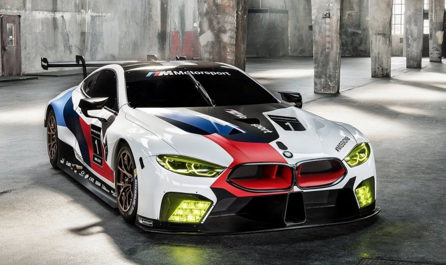 BMW M8 GTE Racecar 2018 – FIA WEC et IMSA WeatherTech Sports Car