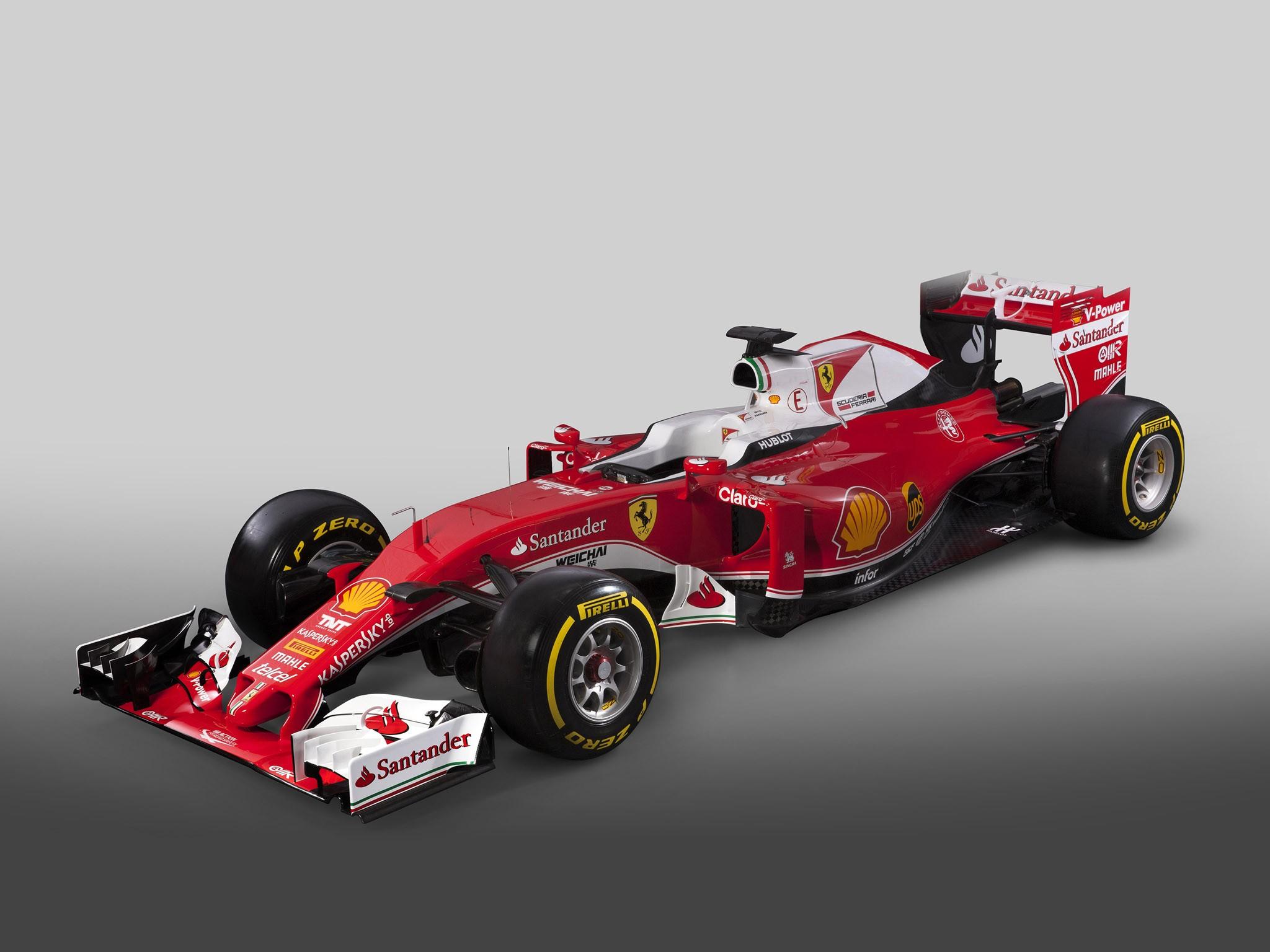Ferrari V6 Turbo Hybrid SF16 H F1 2016