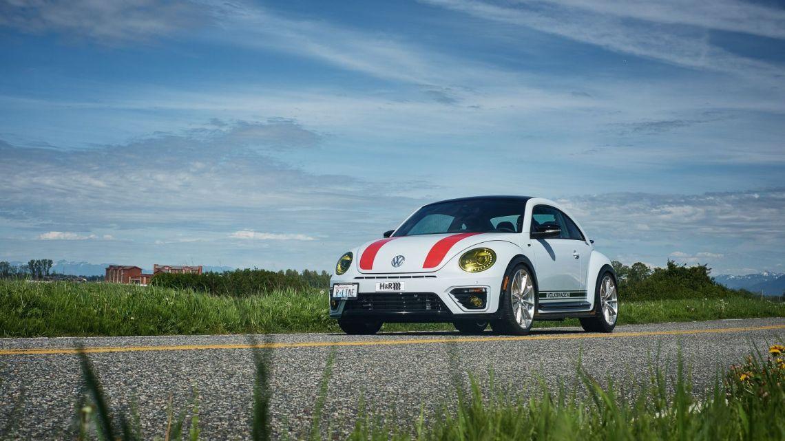 VW Beetle R de H&R: Moteur turbo de 2,0 litres GTI