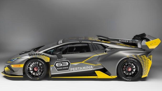 Lamborghini Huracan Super Trofeo Evo Racecar 2018